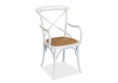 Crossback Dining Chair With Arms - Set of 2 Related