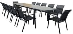 Icaria 13 Piece Outdoor Dining Kit