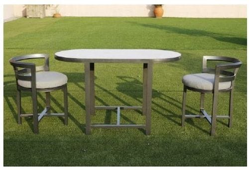 Juno Outdoor 3 Piece Balcony Dining Set Related