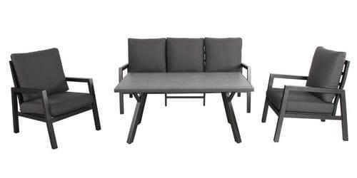 Torros 4 Piece Outdoor Dining Sofa Set Main