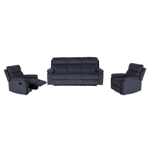 Ascot 3 Seater Reclining Lounge Suite Main