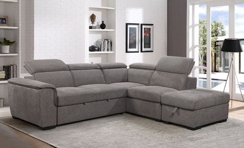 Prague Sofabed Chaise Lounge with Ottoman Main