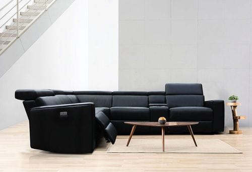 Volante Leather Corner Lounge with Electric Recliners Related