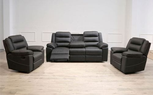 Telford 3 Seater Reclining Suite Main