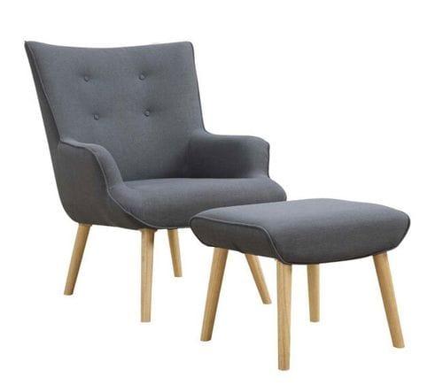 Ollie Chair & Ottoman Main