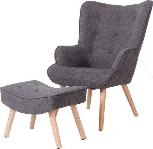 Jacob Reading Chair & Ottoman Main