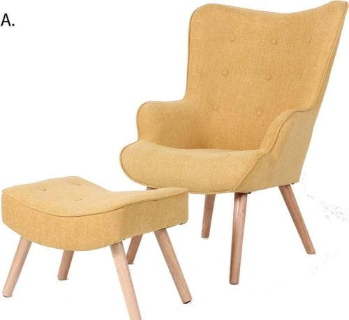 Jacob Reading Chair & Ottoman Related