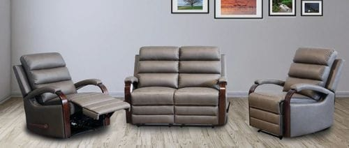 Albert 4 Piece Reclining Lounge Suite Related