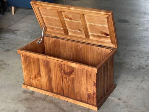 Storage Box with Soft Close Hinge - 1200mm Wide Main