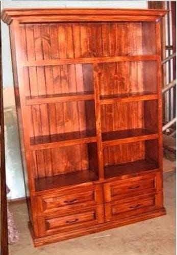 Bookcase with 4 Drawers Main