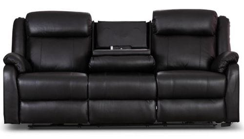 Paramount 3 Seat Electric Reclining Lounge with Drop Down Table Main