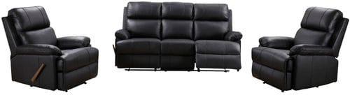 Bella 3 Seat Reclining Lounge Suite Main