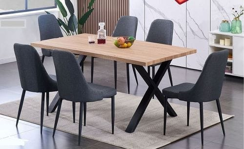 Iconic 7 Piece Dining Suite Main