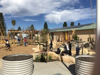 Opening of Nature Play Space