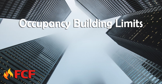 Be Sure to Follow Occupancy Building Limits