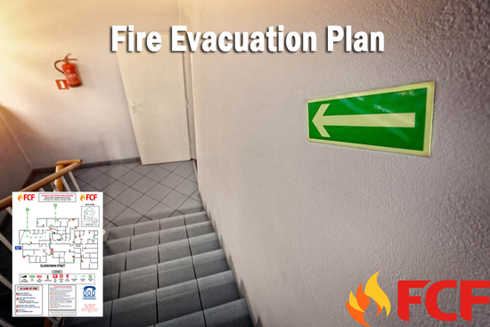 Fire Evacuation Diagram