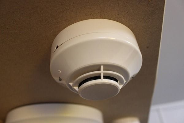 Smoke alarm inspecting and testing