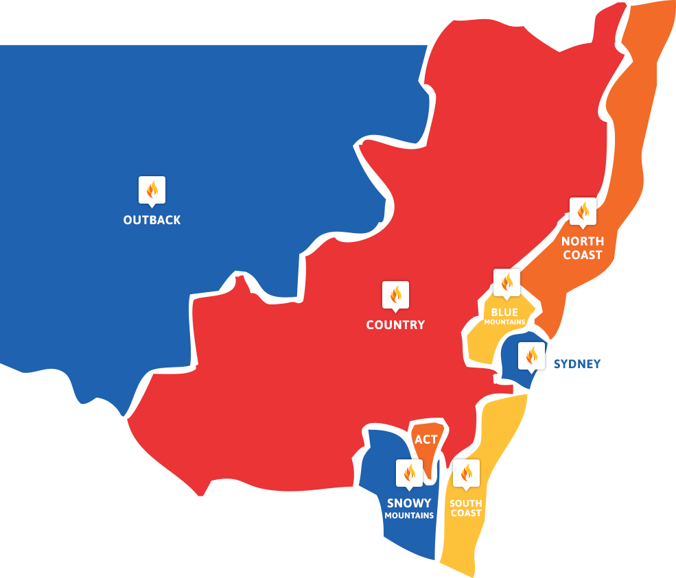 NSW FCF Map