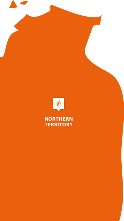 Northern Territory FCF Map