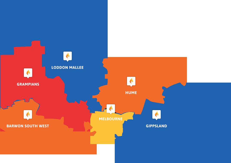 Victoria FCF Map