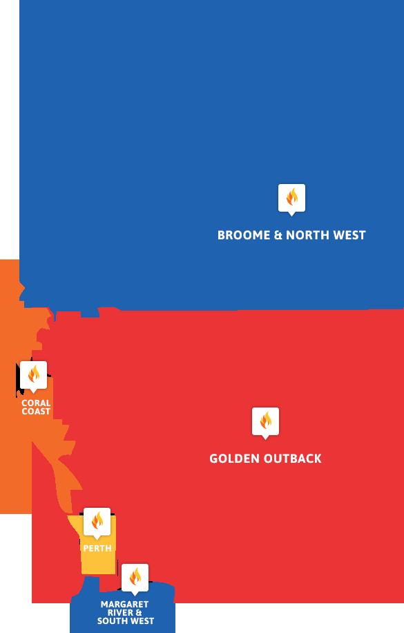Western Australia FCF Map