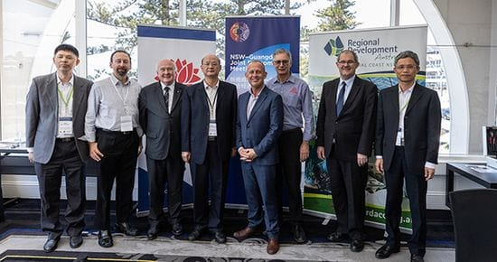 NSW-Guangdong Joint Economic Meeting visit puts Central Coast on global map