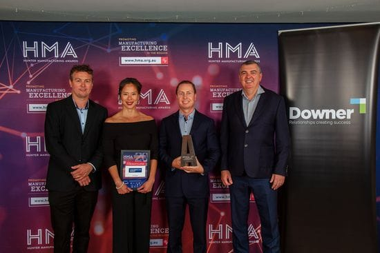 Chamberlain wins at HMA Awards
