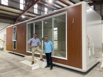A new concept in portable home design and construction