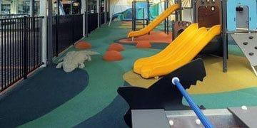 Shaded Kids Playground