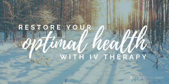 Restore Your Optimal Health This Winter With IV Therapy