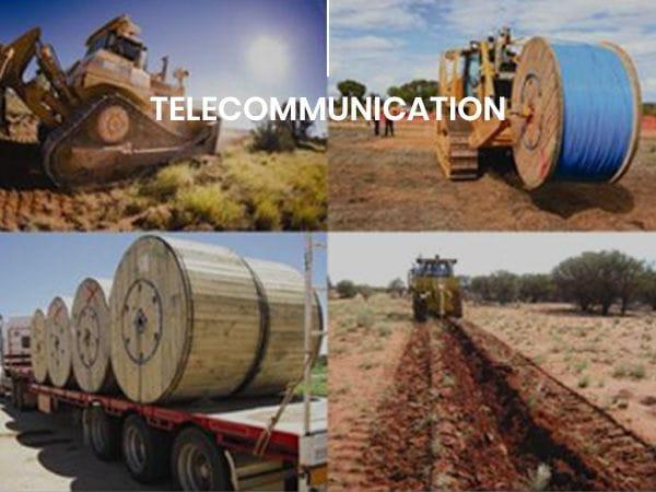 Telecommunication | Global Pacific | Construction Project Management Australia