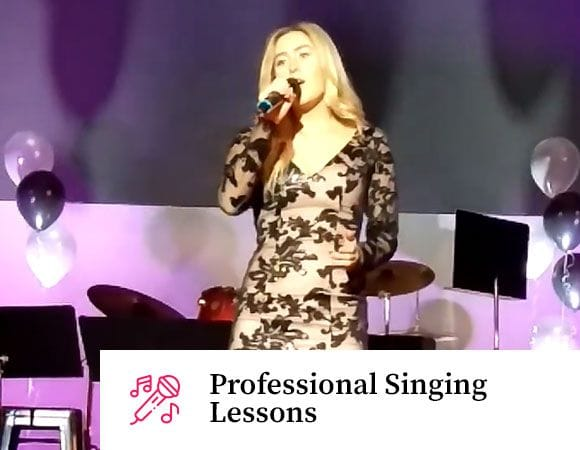 Professional Singing Lessons