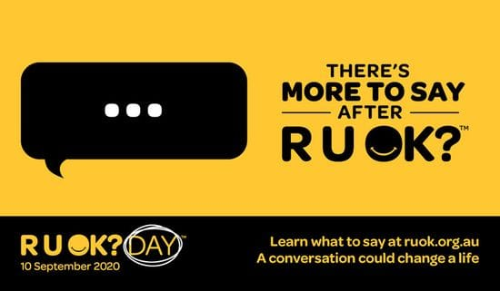 RU OK? A conversation could change a life
