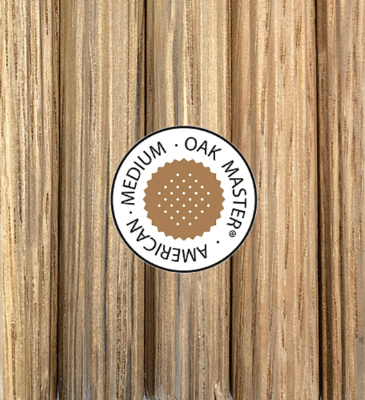 Oak Master American Oak Medium Toasted