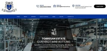 New Website launched for Torresan Estate