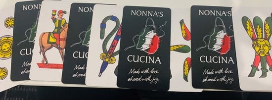 Nonna's Cucina Playing Cards