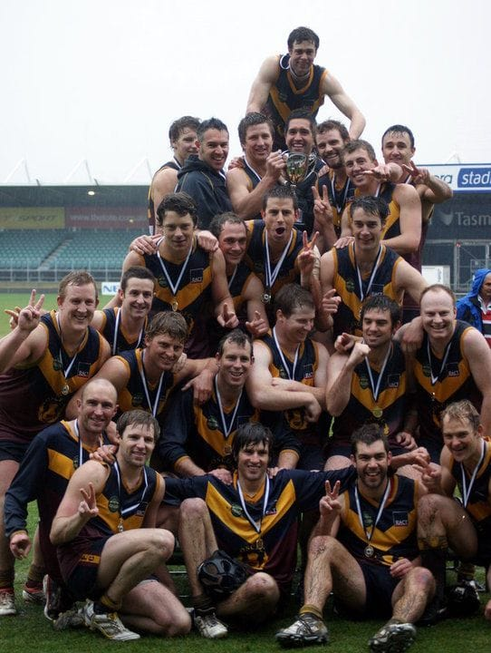 Old Scotch Collegians Football Club (OSCFC) - 2010 Northern Tasmania Football Association (NTFA) Grand Final
