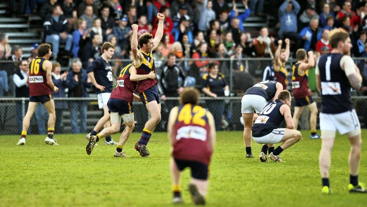 Old Scotch Collegians Football Club (OSCFC) - 2013 Northern Tasmania Football Association (NTFA) Grand Final