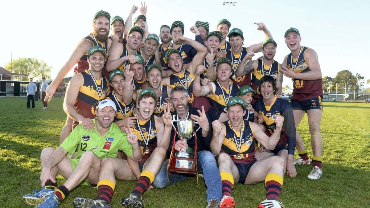Old Scotch Collegians Football Club (OSCFC) - 2014 Northern Tasmania Football Association (NTFA) Grand Final