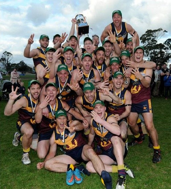 Old Scotch Collegians Football Club (OSCFC) - 2015 Northern Tasmania Football Association (NTFA) Grand Final