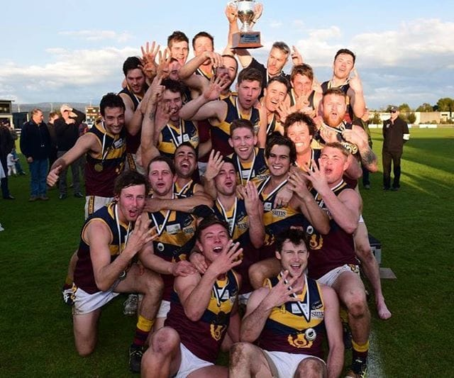 Old Scotch Collegians Football Club (OSCFC) - 2016 Northern Tasmania Football Association (NTFA) Grand Final