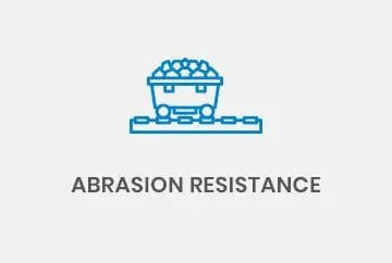 Abrasion resistance conveyors