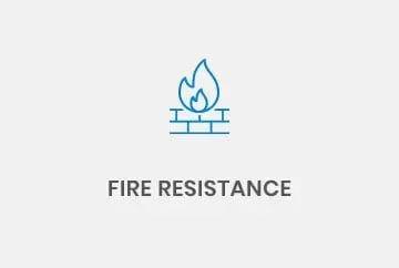 Fire resistance conveyors