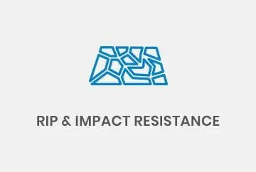 Rip and impact resistance conveyors