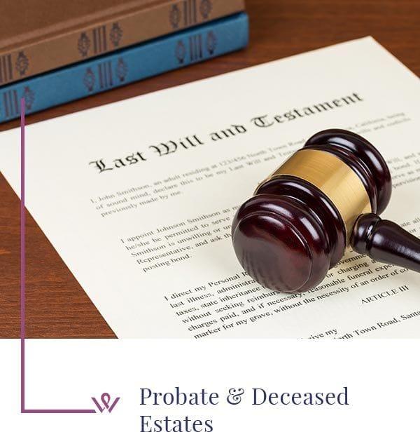Probate & Deceased  Estates