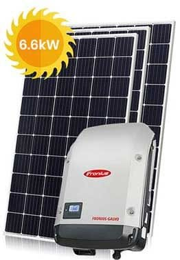 6.6kW Solar package - Residential Solar QLD & NSW