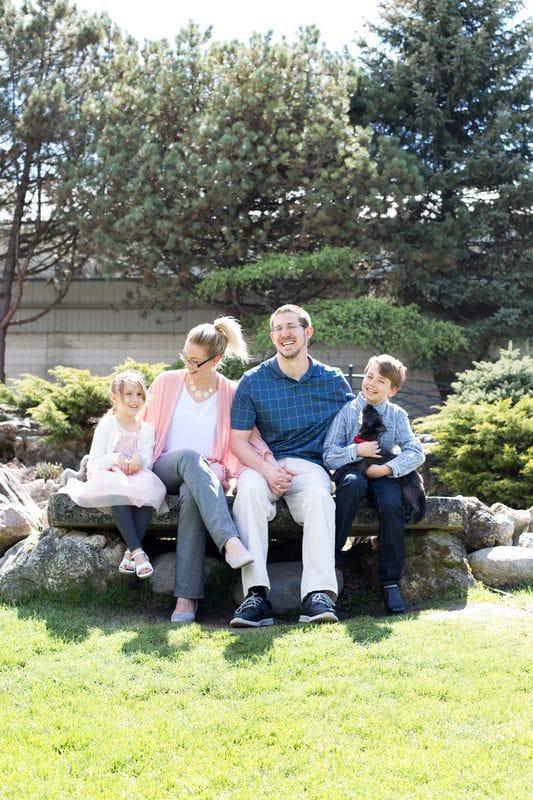 Oshawa Botanical Gardens | Family Session | Durham Region Family Photographer
