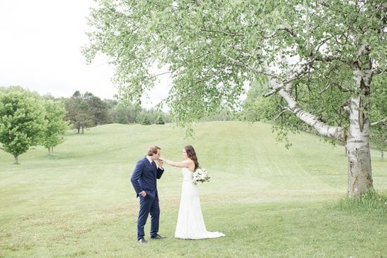 Becky & Jake | Bride & Groom Portraits | Summerlea Golf Course