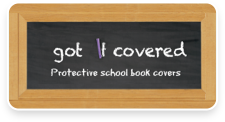 Got It Covered | Protective school book covers Australia