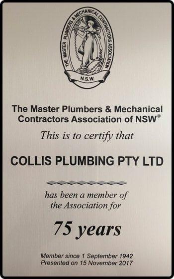 Collis Plumbing PTY LTD